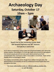 Archaeology Day flier.2015